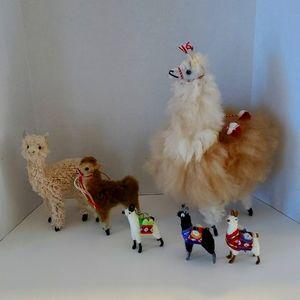 Handmade Llama Set